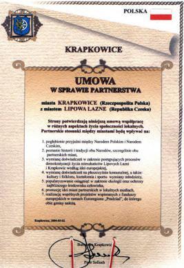 Krapkowice - Lipova Lazne