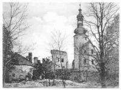 Stare pocztówki_Otmęt_ruiny zamku.jpeg